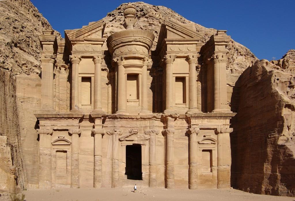 petra jordanie accueil site